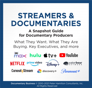 Streamers & Documentaries cover
