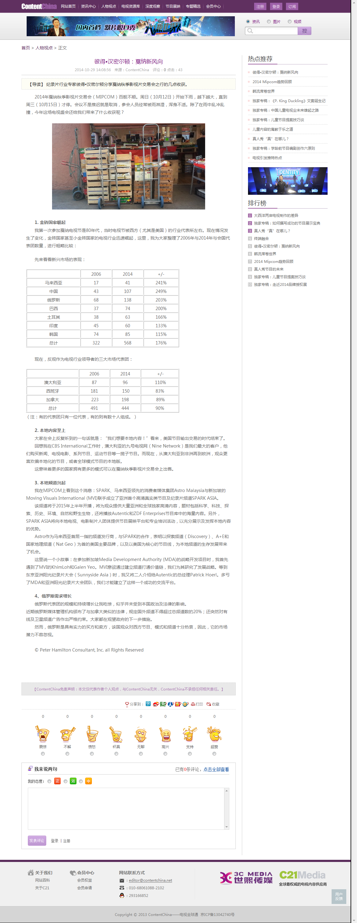 ContentChina 2014-10-29