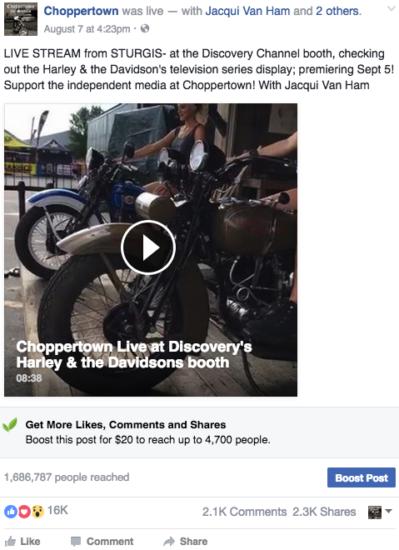 chopper discovery